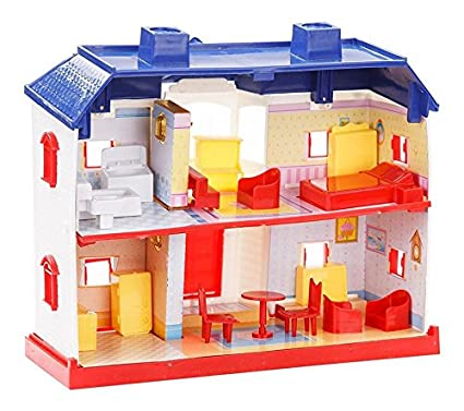 Buy Halo Nation Beautiful Doll House Play For Kids Set 24 Pieces