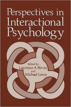 Book Perspectives in Interactional Psychology