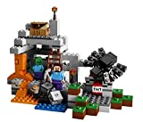 Lego Minecraft + MineCart Hot Wheels with Minecraft Collectible Figure Mystery Blind Box series 5 Ice Minecraft Car HW Ride-Ons - LEGO Minecraft The Cave 21113