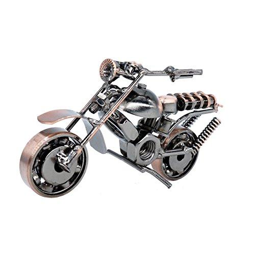 メタルモデルバイク オートバイモデル ブリキ ミニチュア レトロ ミニカー (35A)の商品画像