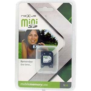 Nexxus Mini tarjeta SD + Adaptador SD 1 GB