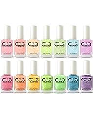 Color Club Poptastic Pastel Neon + Remix Collection 2015 Set of 14 Colors