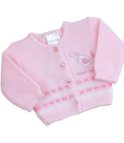- BabyPrem Preemie Baby Cardigan Boys Girls Tweet Tweet 3.5-7.5lb Pink PREM 2