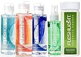 Fleshlight Fleshlube Elements 4 oz | Fire, Water, Ice | Fleshwash and Renewing Powder
