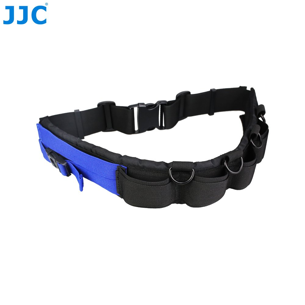 JJC Multi-function Lightweight Durable Deluxe Technical Photography Belt Fits JJC DLP Lens Pouch for Photographers Jinjiacheng Photography Equipment Co. Ltd. GB-1+CL-JWG
