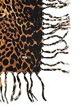 Saint Laurent Womens 4989393Y0449760 Multicolor Wool Shawl