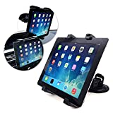 Tuff-Luv Universal Tablet 7-10 Front window Or Vent Mount for Tablets including Ipad 2 ,3 ,4, Air, Mini 7