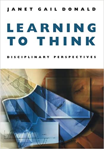 Image result for Learning to Think: Disciplinary Perspectives by Janet Gail Donald