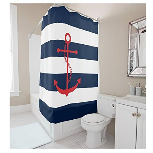 YYT-Shower-Curtains-Red-Anchor-On-Blue-Stripes-Shower-Curtain