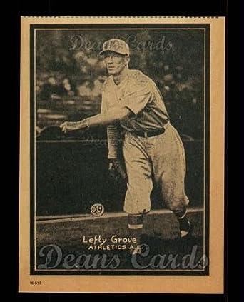 Amazoncom 1931 W517 Reprint 39 Lefty Grove Philadelphia