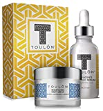 Vitamin C Anti Aging Skin Care Kits; Women Beauty Gifts: Vitamin C Serum with Hyaluronic Acid and Vit C Moisturizer for Face for Night & Day; Perfect Gift Set Kit