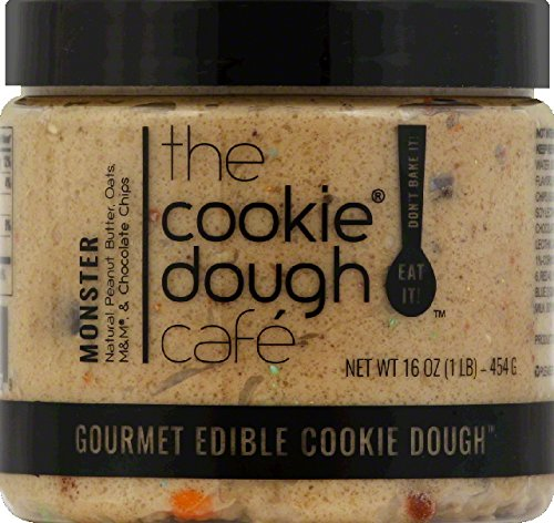 The Cookie Dough Café Monster, 16 Ounce (Pack of 8)