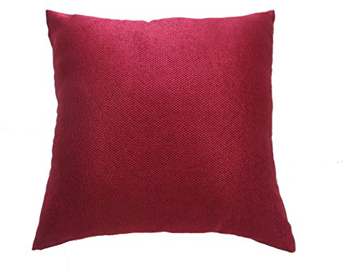 - Violet Linen Luxurious Chenille Abstract Collection Decorative Cushion Cover, 18