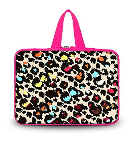 "OHS15-012 New Fashion Arts Design colorful Leopard 14.5"" ..."