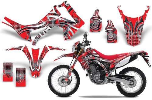 2013-Current Honda CRF 250L AMRRACING ATV Graphics Decal Kit-Deaden-Red