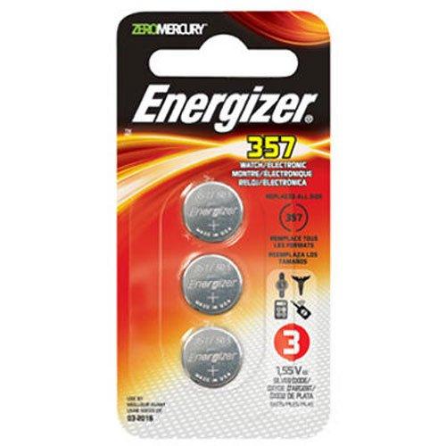 Energizer 357BPZ - Pilas (Óxido de Plata, Button/Coin, 1.55V, 5.4 mm, 1.16 cm, 2.3g)