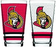 NHL Ottawa Senators Mixing Glass, 2-Pack
