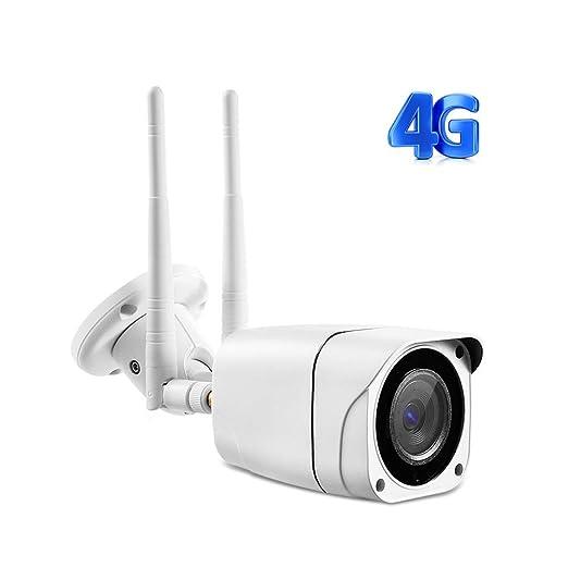 QLPP 1080P / 960P de Seguridad Exterior, la cámara 4G WiFi ...