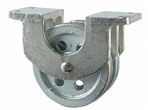 Double Pulley Block, Sheave OD 2-1/2