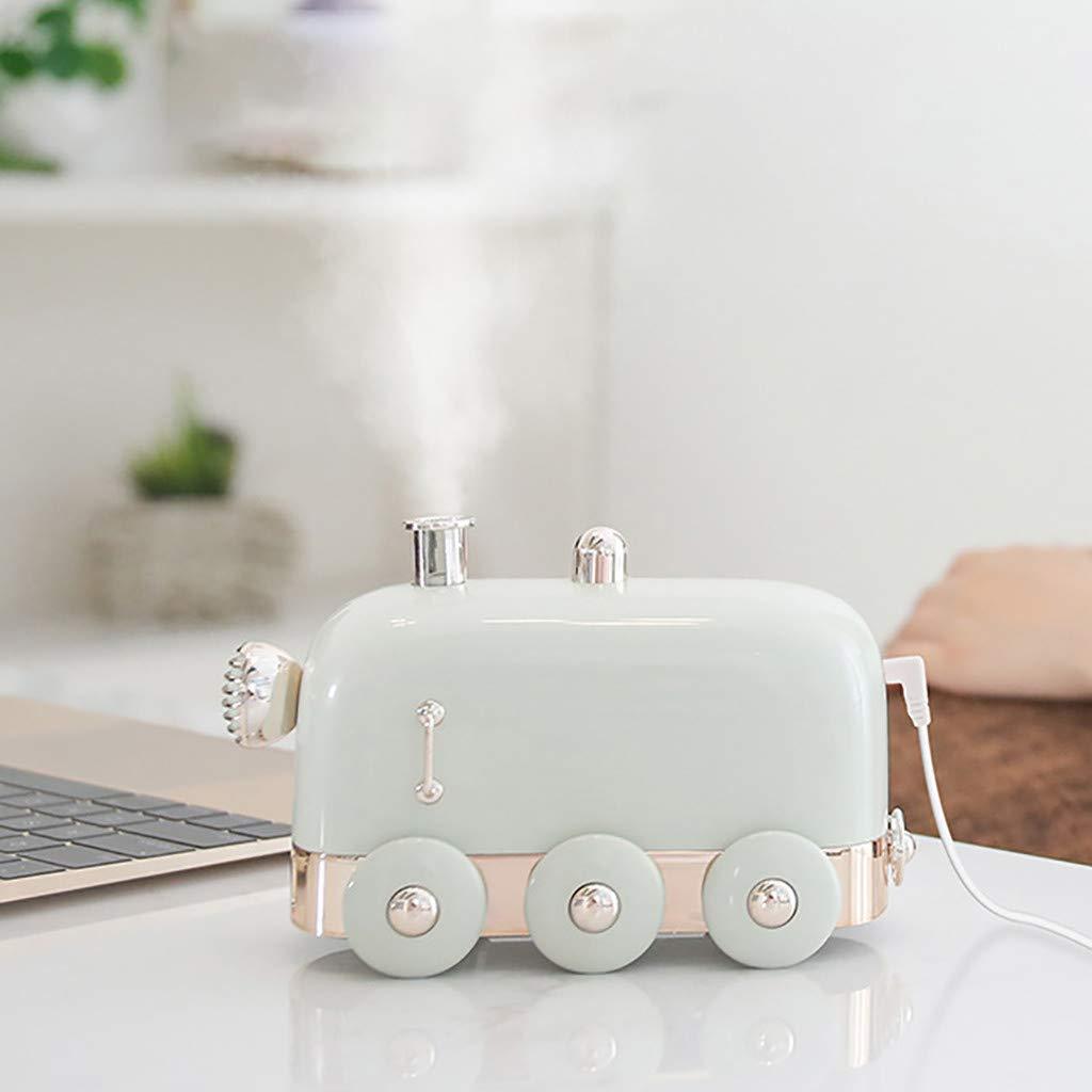 beb/é Humidificador de Tren de Mini FBGood Humidificador Dormitorio Ideal para casa Oficina Difusor de 300 ml de Aceite Esencial de aromaterapy de difusor de Aire de USB