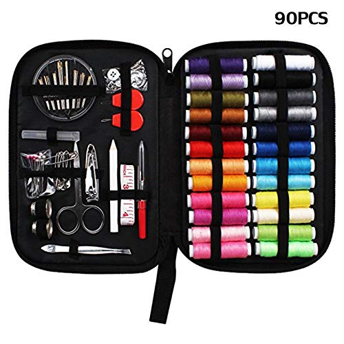 Sewing Tools Kit Needle Scissor Sewing Set Box Household Accessory Home Tool ()