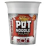 Pot Noodle Sticky Rib 90g (Pack of 4)