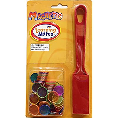Popular Playthings 1 Magnetic Wand, 100 Chips: Toys & Games