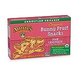 Annie's Organic Fruit Snacks, Bunny Pink Lemonade, 50 Pouches, 0.8oz