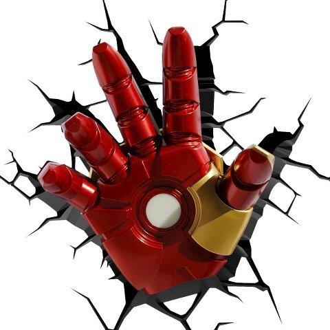 3D Light FX Marvel Iron Man Hand 3D Deco LED Wall Light(Discontinued by manufacturer)