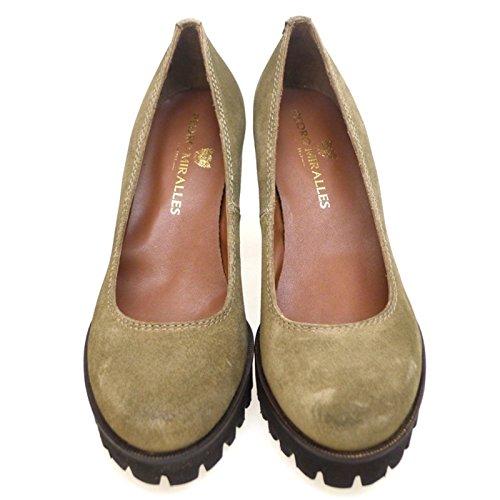 PEDRO MIRALLES Zapato Salón con Plataforma 1279 Cuero