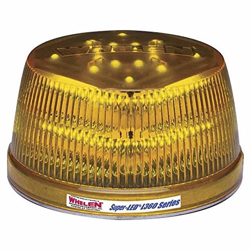 - Whelen Engineering L31 Series Super-LED Beacon - High Dome, Flat Mount - Amber