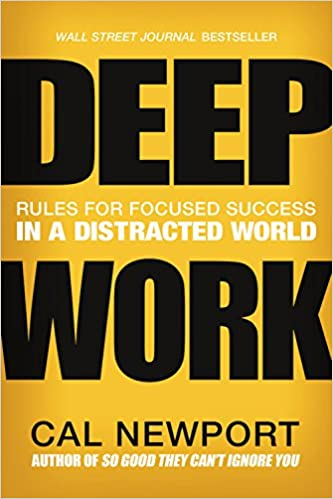 Deep work rules for focused success in a distracted world cal deep work rules for focused success in a distracted world cal newport 9781455586691 amazon books fandeluxe Choice Image