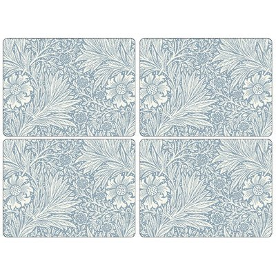 Pimpernel William Morris Marigold Blue Placemats - Set of 4