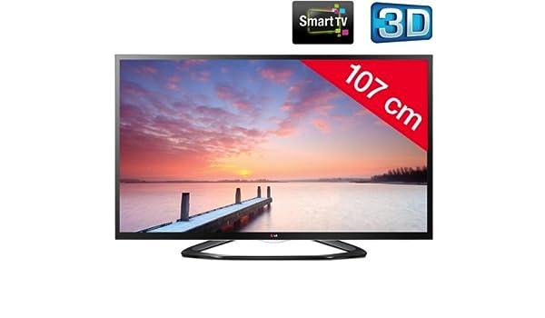 LG 42LA640S – Televisor LED 3D Smart TV + Cable HDMI – 24 DE karätig Dorado, 1,5 m – – swv3 432ws/10 + Surges Trip S Series – Protector de sobretensión: Amazon.es: Electrónica