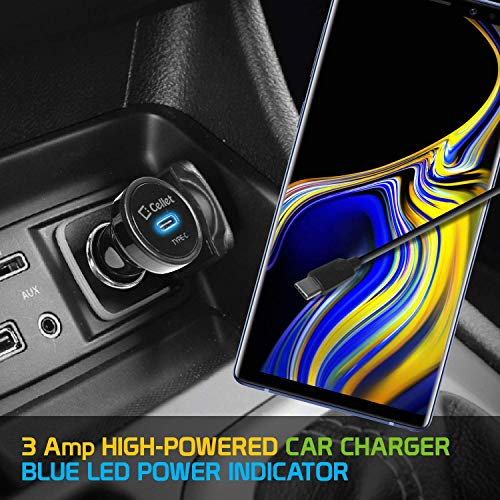 Pro 15W USB-C Car Charger for Your Oppo F3 Plus with Long Durable 6ft  Cable! (1 5M/3A/BLACK)