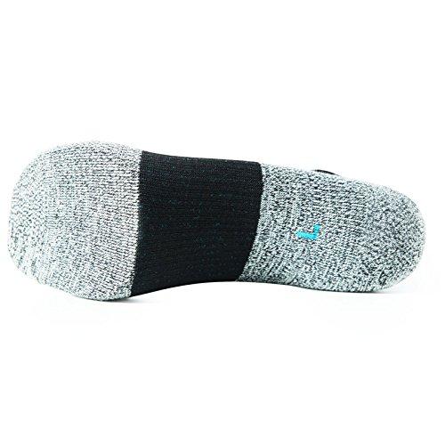 COOLMAX Unisex Quick Dry Athletic Crew Socks-5 Pairs (Medium, CMF8S) by COOLMAX (Image #6)