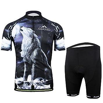 PhilMat 3d bicicleta bici cortos ropa de deportes de la ...