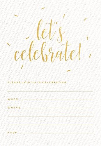 Kaisercraft Let's Celebrate Kaiser Style Invitation Pack -