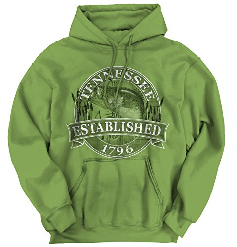 Classic Teaze Tennessee State The Volun r State Bass Fishing Gift Ideas Hoodie - Shop Bass Memphis