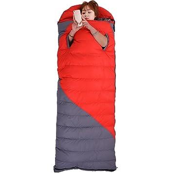 LJHA shuidai Saco de Dormir/Saco de Dormir Abajo/Splicable/Acampar Al Aire