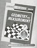 Geometry and Measurement, Kent Publishing (EDT), 1562543687