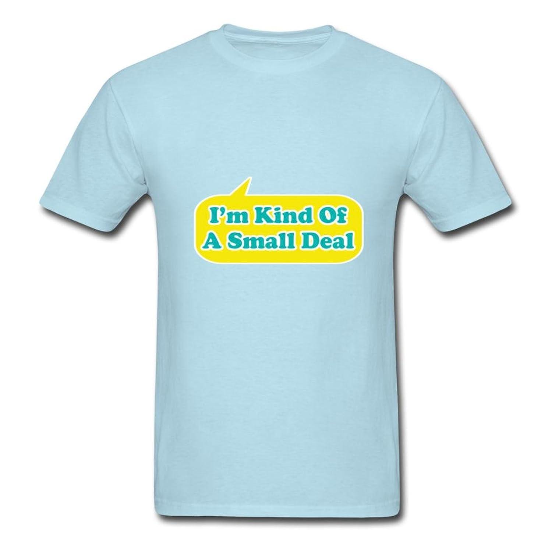 JonathanJonathan lively I Am Kind Of A Small Deal Sky blue Men Shirt XX-Large