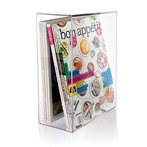STORi Clear Plastic Magazine Holder