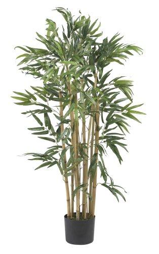 (Nearly Natural 5279 Multi Bambusa Bamboo Silk Tree, 3-Feet, Green)