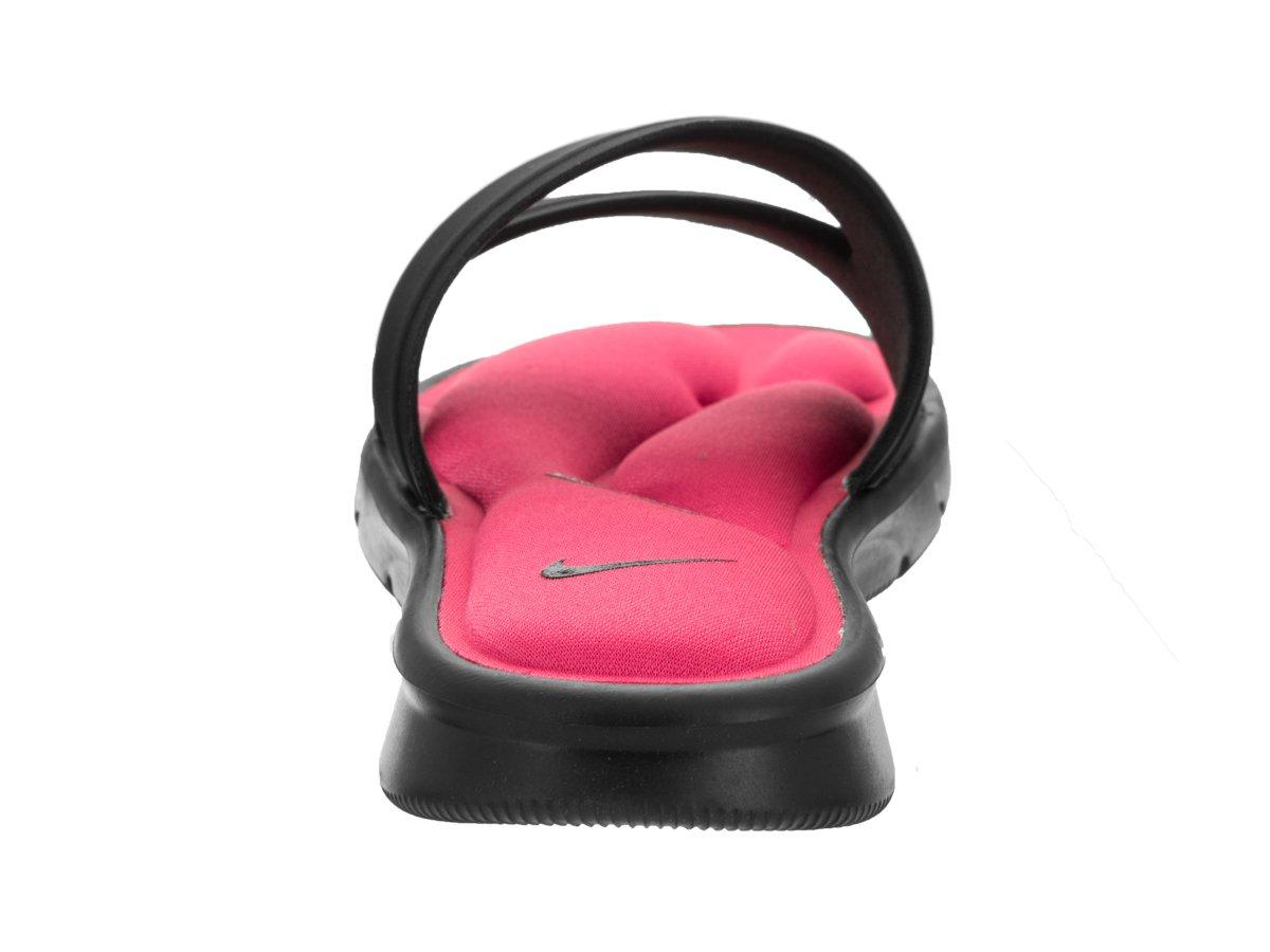 Sandalia de deslizamiento Rosa ultra Comfort NIKE/ para mujer Negro ...