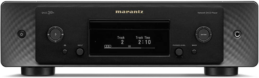 Marantz SACD30NBLK CD Player with Integrated with HEOS Built in (Black)