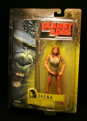 DAENA w/ Spear & Knife PLANET OF THE APES Action Figure