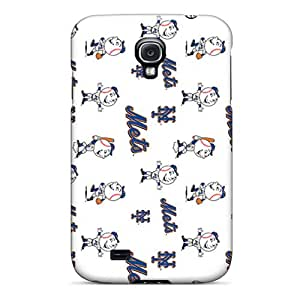 AlissaDubois Samsung Galaxy S4 Best Hard Phone Cover Provide Private Custom Attractive New York Mets Skin [AdS12069dQcM]
