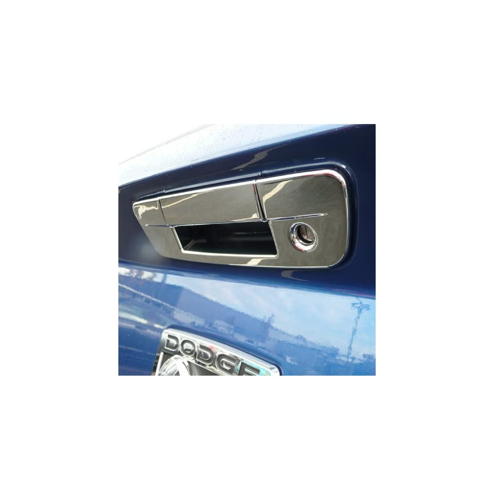 2009 2013 Dodge Ram Chrome Tail Gate Cover With Keyhole