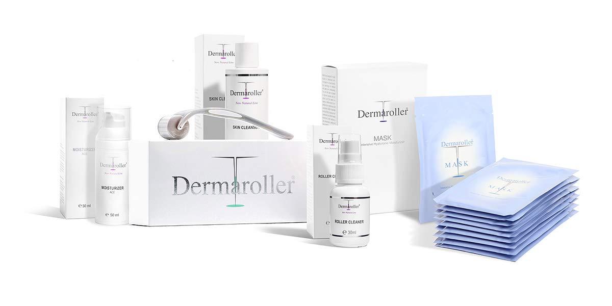 Producto original de Dermaroller para pieles sensibles.: Amazon.es ...